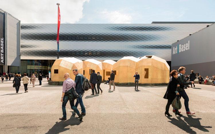 Art Basel 2017 (Basilea, Suiza). Messeplatz