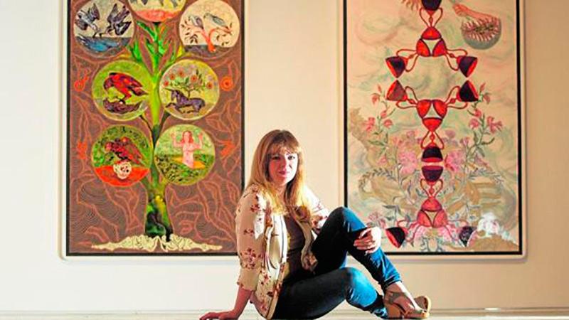 The lines of destiny of Marina Vargas   Feria Art Madrid'19