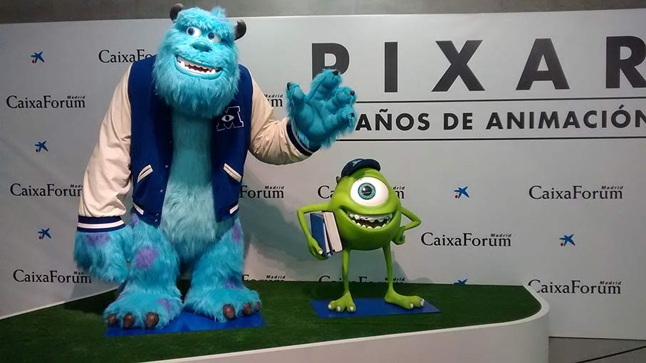 Mike y Sullivan en Monsters University