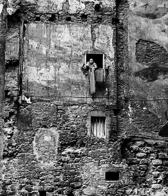 Sin futuro, Barrio de Santa Caterina, Barcelona, 1964