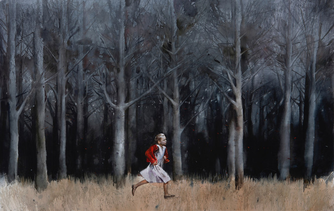 Andrei Zadorine | Running in the forest