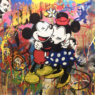 Mr. Brainwash | Mickey y Minnie