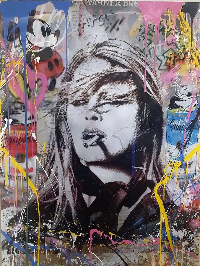 Mr. Brainwash | Brigitte Bardot