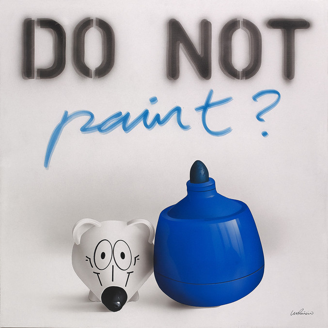 Miguel Piñeiro | Do not paint