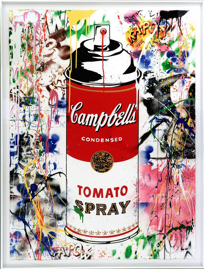 Mr. Brainwash | Tomato Spray