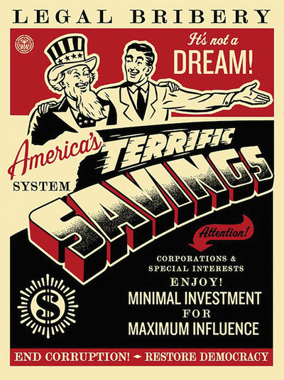 Shepard Fairey | America's savings