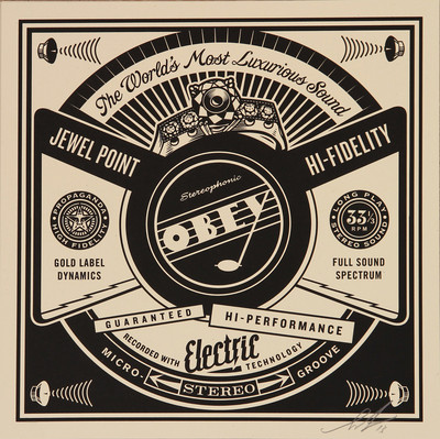 Shepard Fairey | Luxurious Sounds