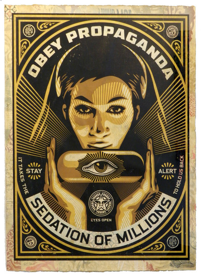 Shepard Fairey | Sedation Pill