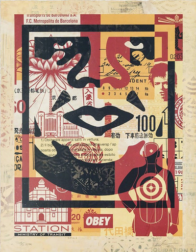 Shepard Fairey | Icon Collage Set II