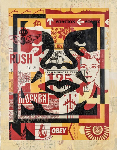 Shepard Fairey | Icon Collage Set III