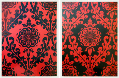 Shepard Fairey | Parlor pattern set