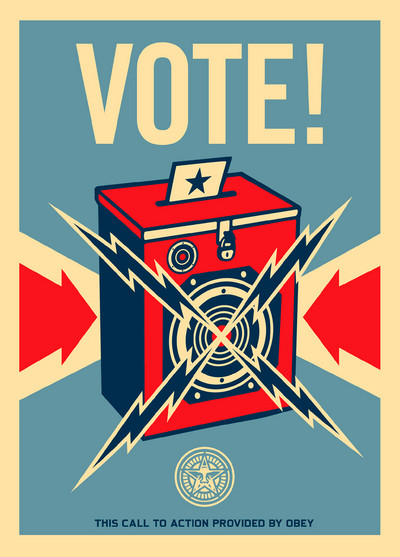 Shepard Fairey | Vote