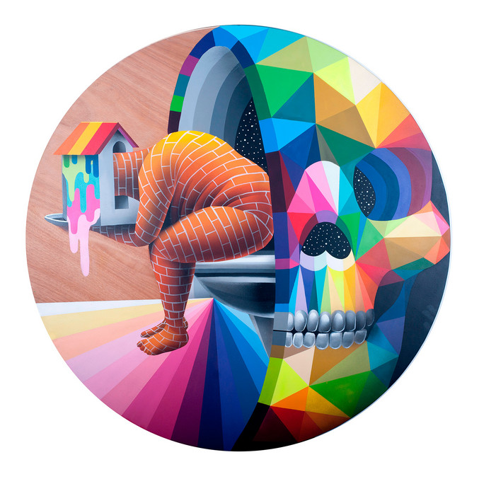 Okuda San Miguel | Toilet Inside you