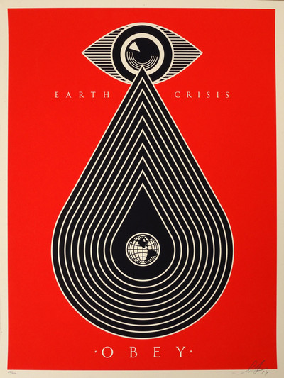 Shepard Fairey | Earth crisis