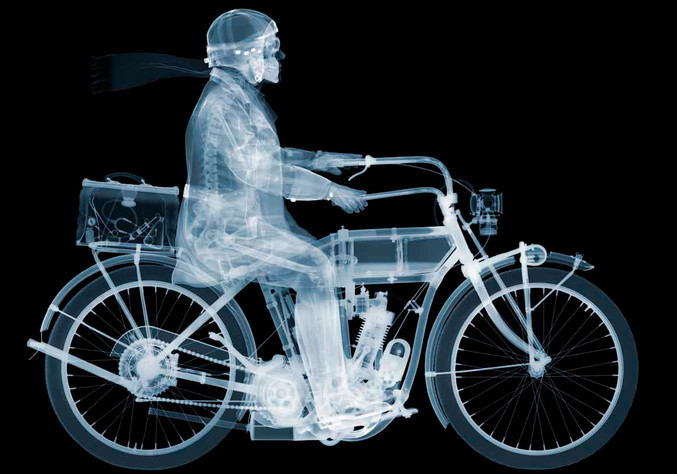 Nick Veasey | Indian Rider