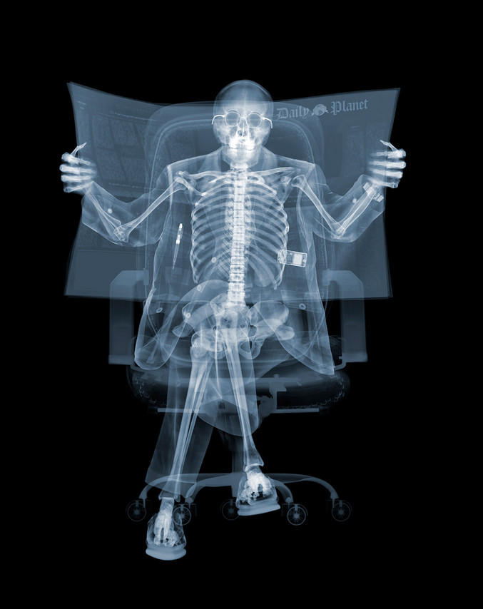 Nick Veasey | Newspaper Man