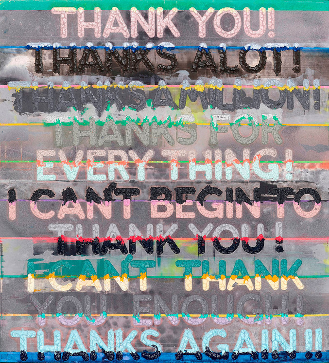Mel Bochner | Thank you