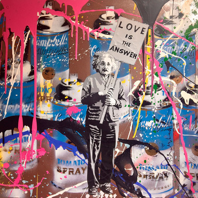 Mr. Brainwash | Einstein