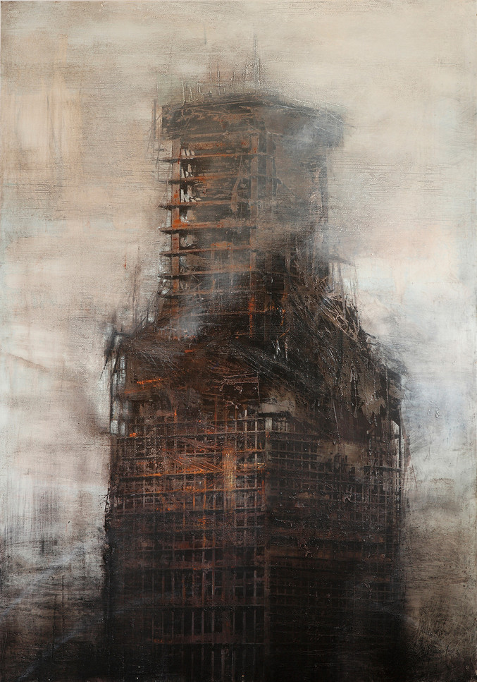 Alejandro Quincoces | The windsor building burnt III