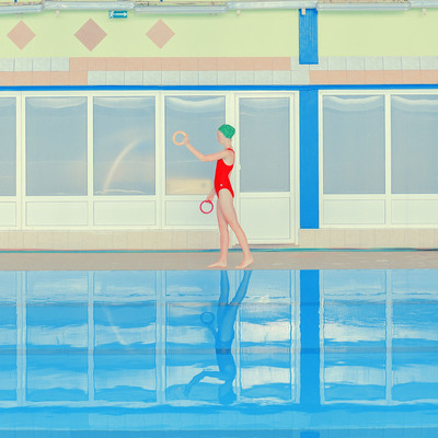 Mária Švarbová | Swimming Pool, Brezno