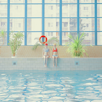 Mária Švarbová | Swimming Pool, Twins