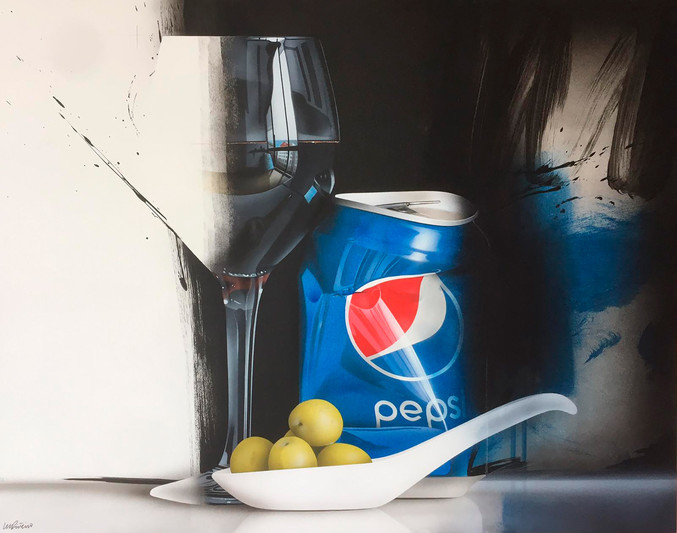 Miguel Piñeiro | Still life with olives