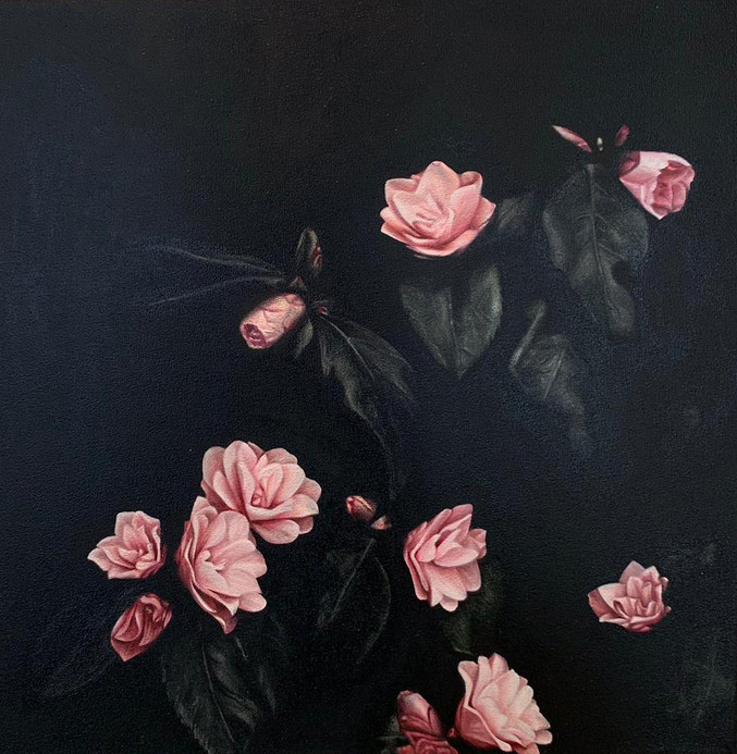 Alejandro Monge | Black Series - Flowers