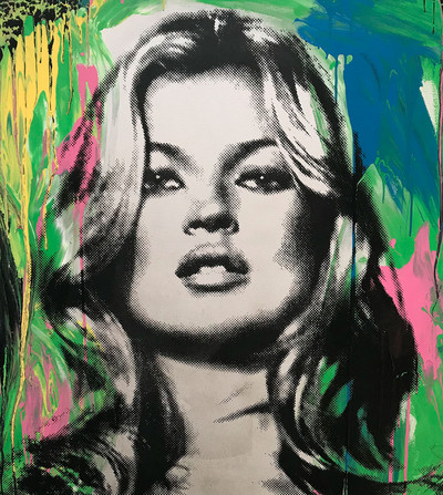 Mr. Brainwash | Kate Moss