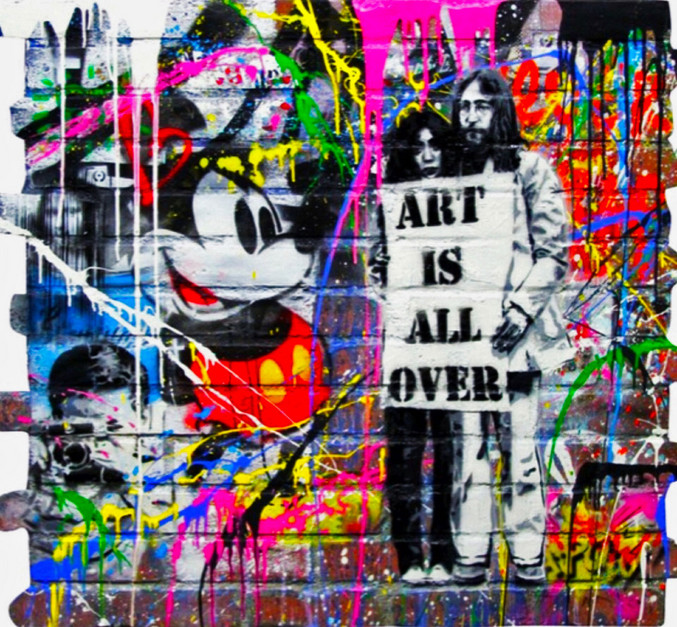 Mr. Brainwash | Art is all over