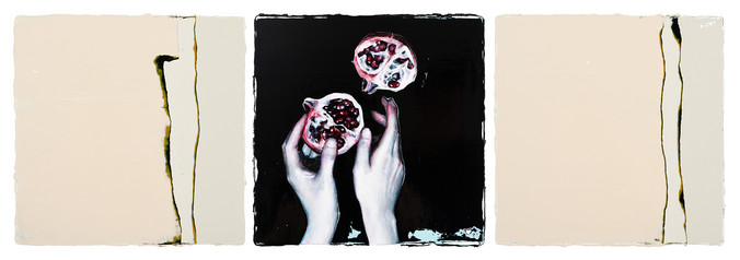 Chen Yun | The ashes. Reburning with the red liquid from the pomegranate
